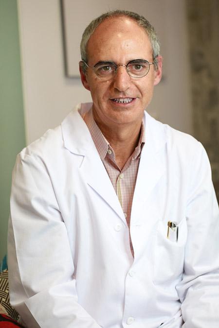 Retrato del oftalmólogo José Gutiérrez Amorós