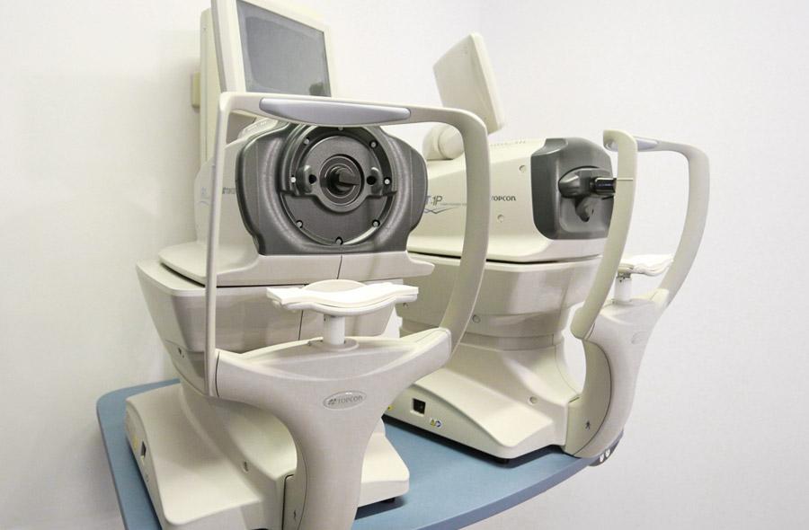 Aparato de oftalmología